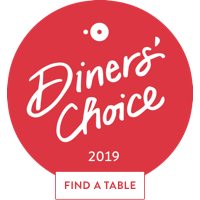 Diners Choice 2019 Badge